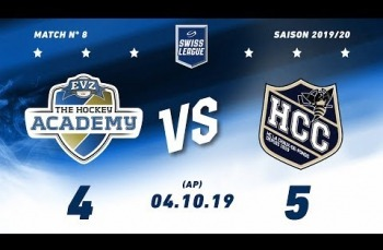 Embedded thumbnail for EVZ Academy - HC La Chaux-de-Fonds (4-5) AP