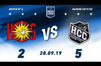 Embedded thumbnail for HC Sierre - HC La Chaux-de-Fonds (2-5)