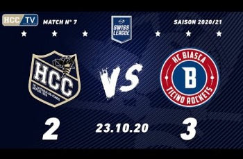 Embedded thumbnail for HC La Chaux-de-Fonds – HCB Ticino Rockets (2-3)