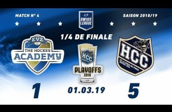 Embedded thumbnail for EVZ Academy - HC La Chaux-de-Fonds (1-5)