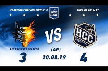 Embedded thumbnail for Grenoble Les Brûleurs de Loups - HC La chaux-de-Fonds (3-4) AP