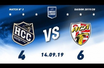 Embedded thumbnail for HC La Chaux-de-Fonds – HC Ajoie (4-6)
