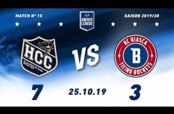 Embedded thumbnail for HC La Chaux-de-Fonds – HCB Ticino Rockets (7-3)
