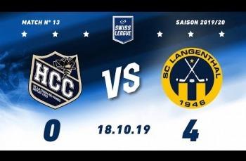 Embedded thumbnail for HC La Chaux-de-Fonds – SC Langenthal (0-4)