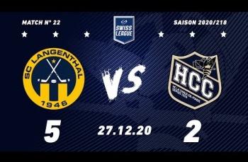 Embedded thumbnail for SC Langenthal - HC La Chaux-de-Fonds (5-2)