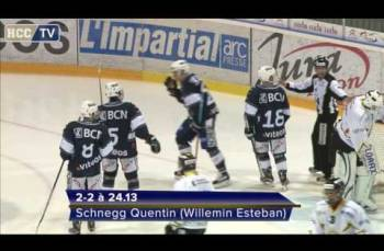 Embedded thumbnail for Elites B HC La Chaux-de-Fonds - Thurgauer Eishockey-Young Lions (5-2)