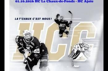 Embedded thumbnail for HC La Chaux-de-Fonds - HC Ajoie (4-3)