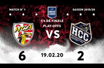Embedded thumbnail for HC Ajoie - HC La Chaux-de-Fonds (6-2)
