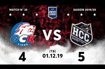 Embedded thumbnail for GCK Lions - HC La Chaux-de-Fonds (4-5) TB