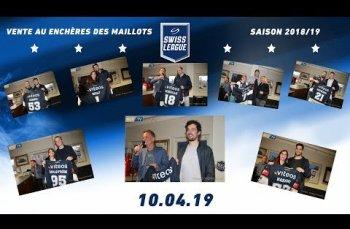 Embedded thumbnail for Vente aux enchères des maillots de la 1ère Équipe