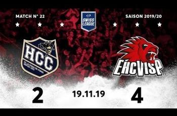 Embedded thumbnail for HC La Chaux-de-Fonds – EHC Viège (2-4)