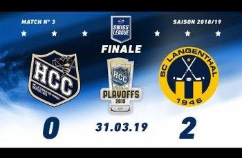 Embedded thumbnail for HC La Chaux-de-Fonds - SC Langenthal (0-2)