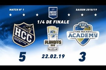 Embedded thumbnail for HC La Chaux-de-Fonds – EVZ Academy (5-3)