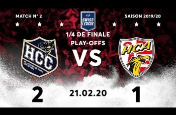 Embedded thumbnail for HC La Chaux-de-Fonds – HC Ajoie (2-1)