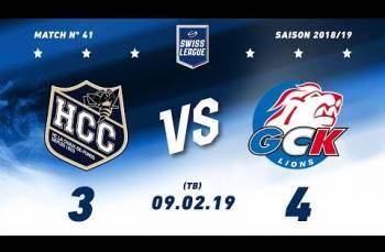 Embedded thumbnail for HC La Chaux-de-Fonds – GCK Lions (3-4) TB