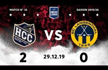 Embedded thumbnail for HC La Chaux-de-Fonds – SC Langenthal (2-0)