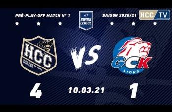 Embedded thumbnail for HC La Chaux-de-Fonds – GCK Lions (4-1)