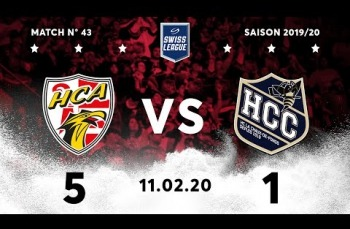 Embedded thumbnail for HC Ajoie - HC La Chaux-de-Fonds (5-1)