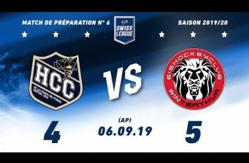 Embedded thumbnail for HC La chaux-de-Fonds – EHC Winterthur (4-5) AP