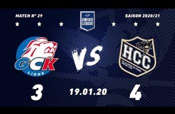 Embedded thumbnail for GCK Lions - HC La Chaux-de-Fonds (3-4)