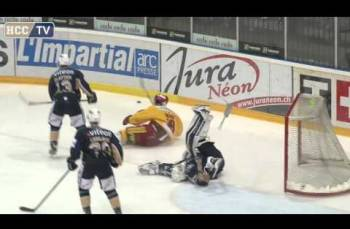Embedded thumbnail for HC La Chaux-de-Fonds - SCL Tigers (1-2)