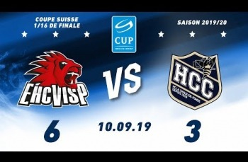 Embedded thumbnail for EHC Viège - HC La Chaux-de-Fonds (6-3)